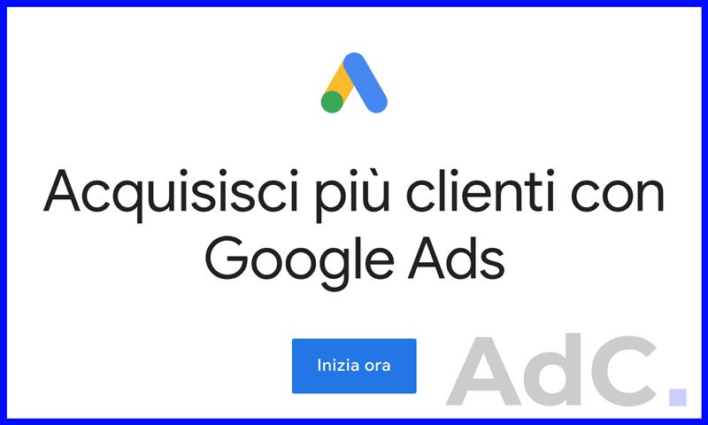 come creare account google ads - adwords