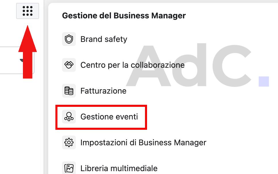 pixel di facebook gestione eventi guida