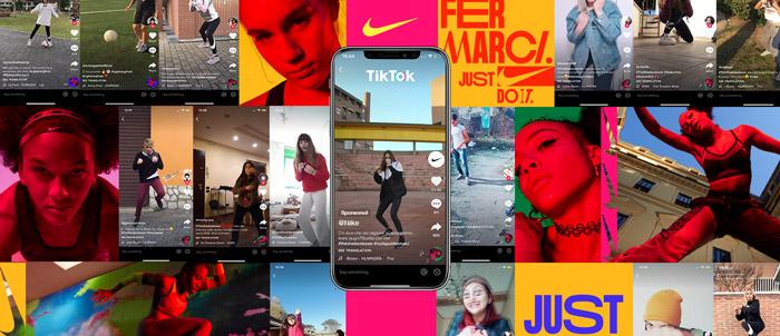Tiktok Ads Nike virale