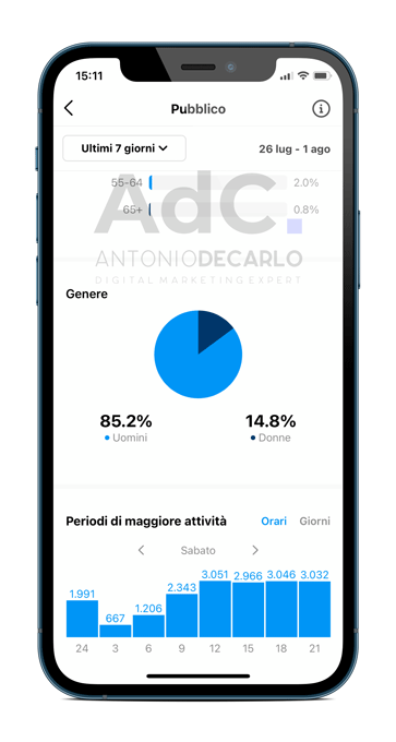 come vedere insights instagram